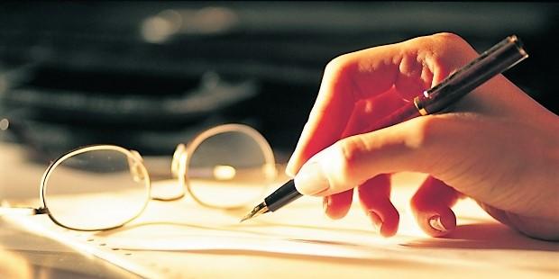 Yazarı imlâya getirmek