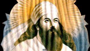 D407XP Portrait of the Zoroastrian prophet Zarathustra