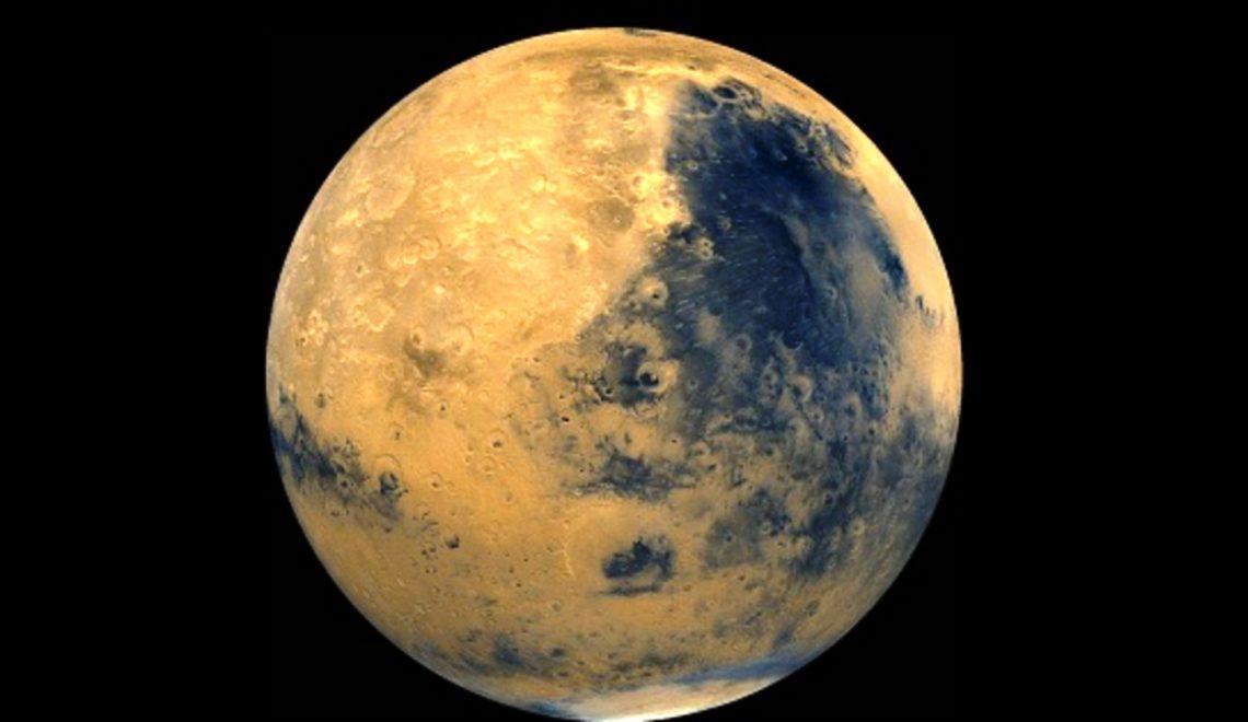 Mars'ta Göl Bulundu
