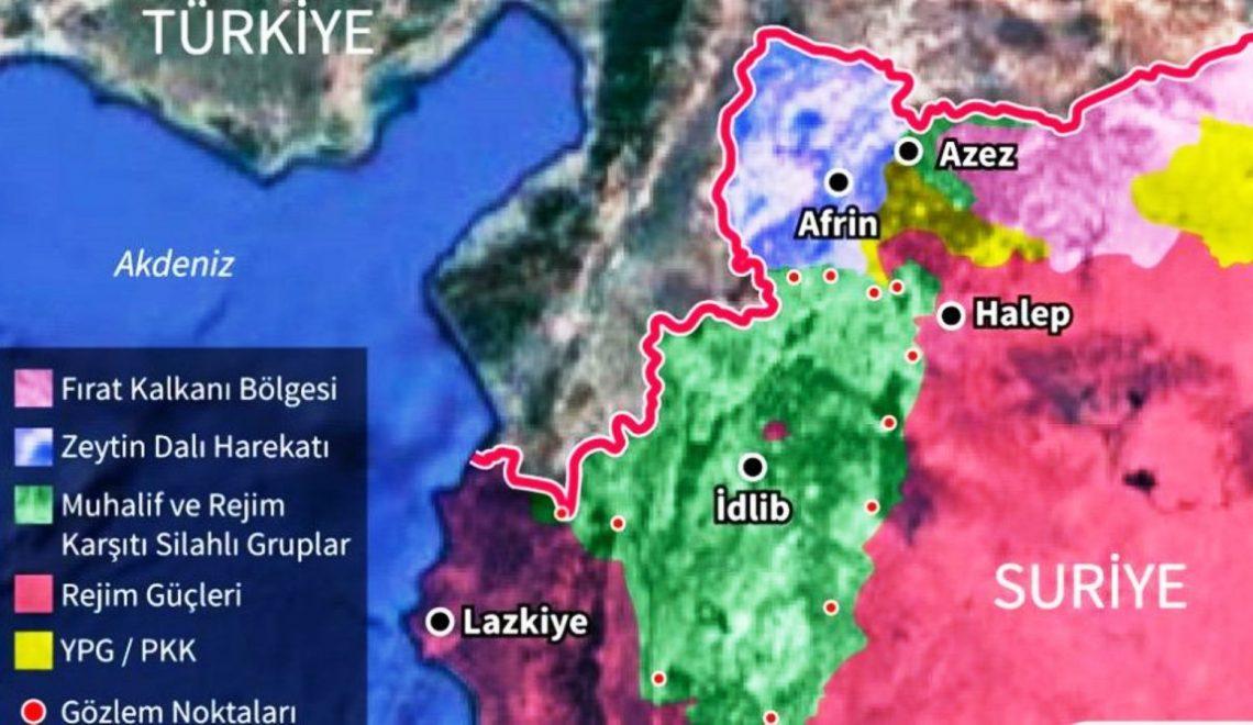 İdlib'de 33 Şehit