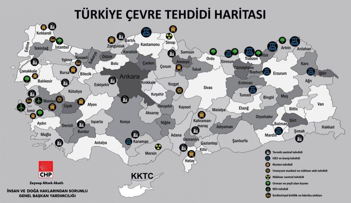 Türkiye Tehdit Haritası